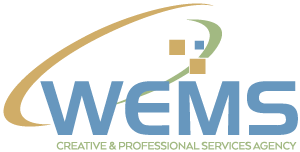 WEMS agency logo - Contact us! Service Questions, Product Support, Partnership Info?