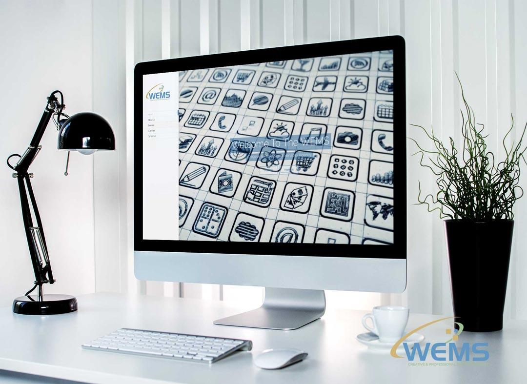 WEMS homepage - Webdesign et optimisation pour les moteurs de recherche (SEO)