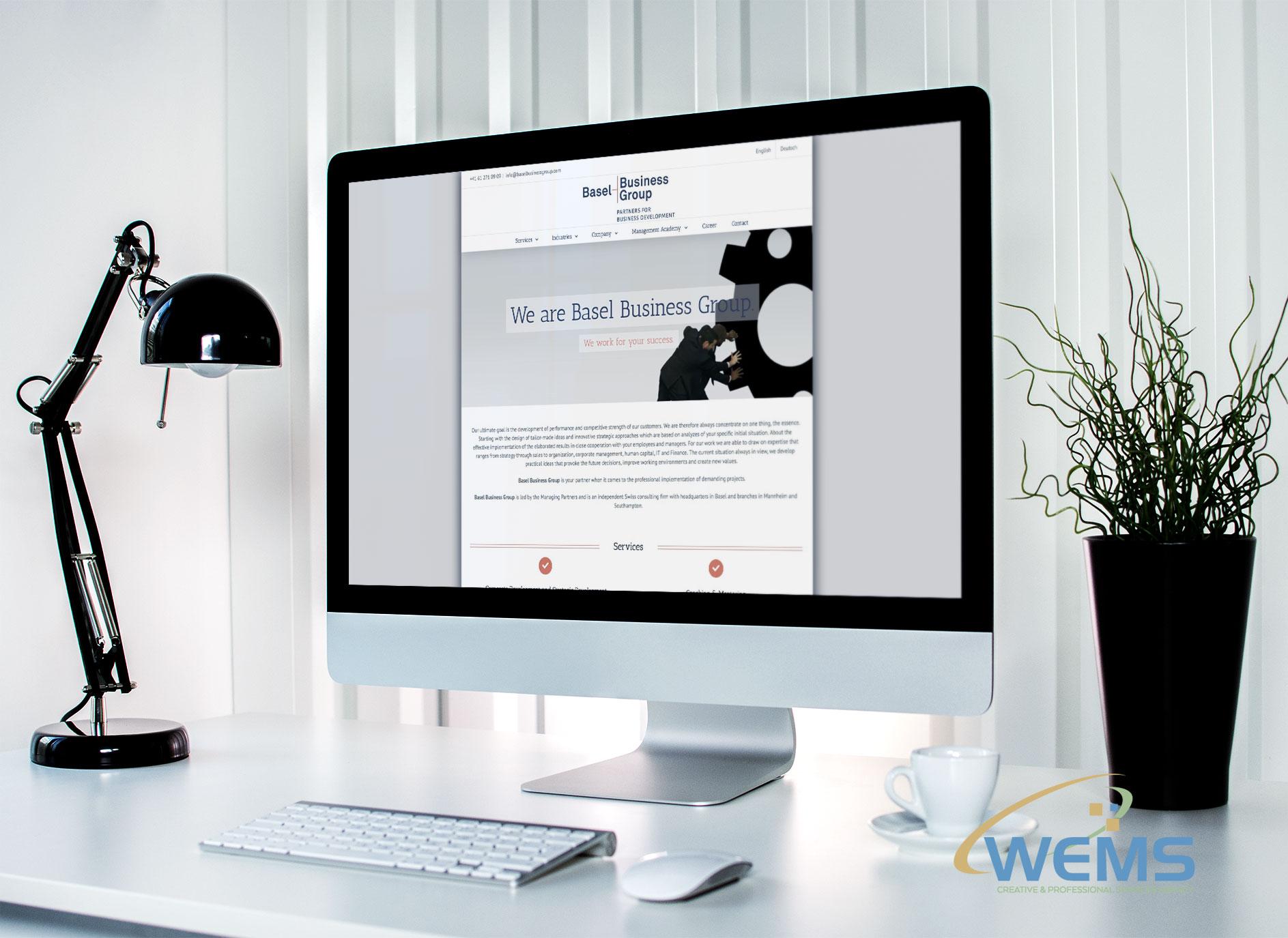 basel business groups - Webdesign und Suchmaschinenoptimierung (SEO) Agentur