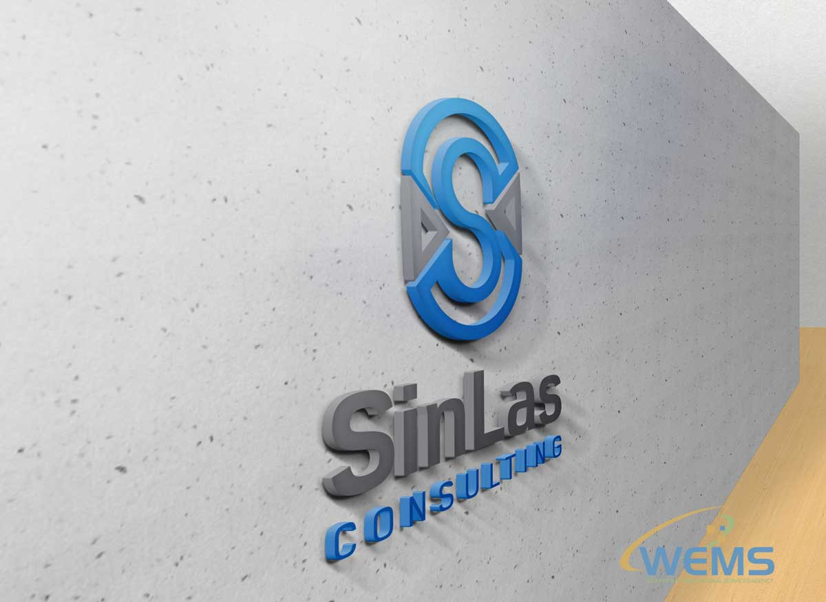 wems SinLas Consulting logo - Graphic Design, Logo Design, Corporate Identity Design | WEMS Agency