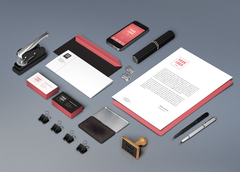 wems agency graphic design stationary - Graphic Design, Logo Design, Corporate Identity Design | WEMS Agency