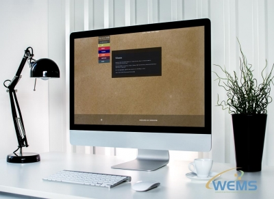 wems agency webdesign mockup Francescagentile 400x291 - WEMS Webdesign and SEO Agency in Basel, Baselland, Zürich, Lausanne, Geneva and Switzerland