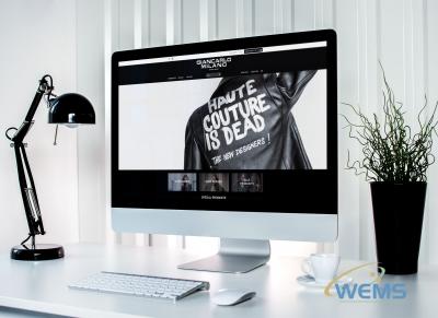 wems agency webdesign mockup Giancarlo Milano Casual Wear   Giancarlo Milano2 400x291 - Conception de sites web à Lausanne, Genève, Bâle, Zürich et en Suisse