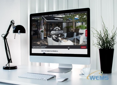 wems agency webdesign mockup barber club 400x291 - Webdesign und Suchmaschinenoptimierung (SEO) Agentur