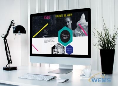 wems agency webdesign mockup elzo 400x291 - Conception de sites web à Lausanne, Genève, Bâle, Zürich et en Suisse