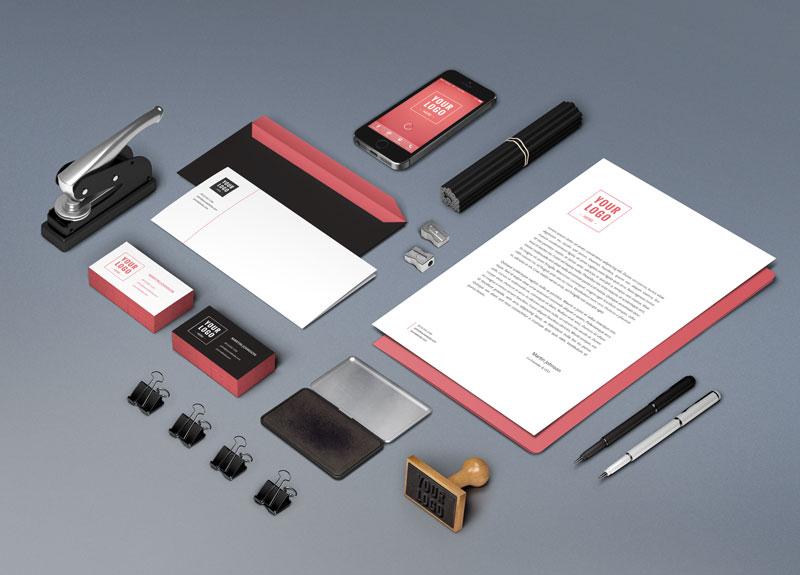 wems agentur Gestaltung von Schreibwaren - Professionelles Grafik Design Agentur | WEMS Agency