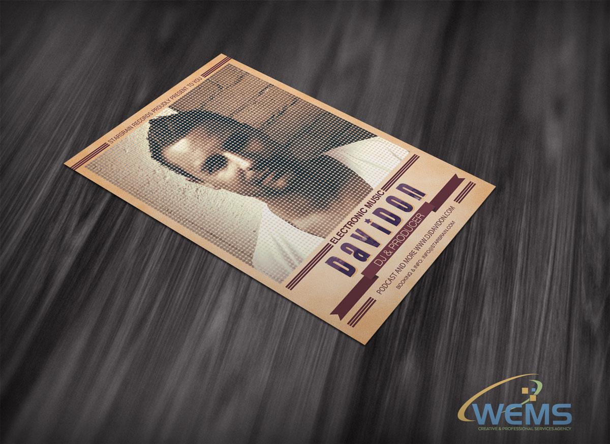 wems davidon flyer 2 - Conception graphique - WEMS l'agence qui harmonise