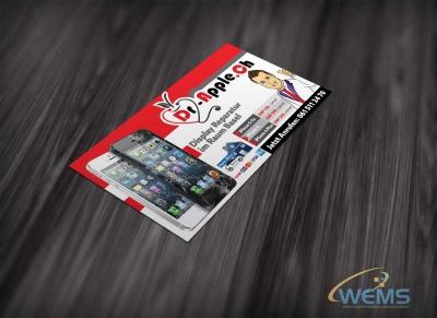 wems dr apple display flyer 1 400x291 - Professionelles Grafik Design Agentur | WEMS Agency