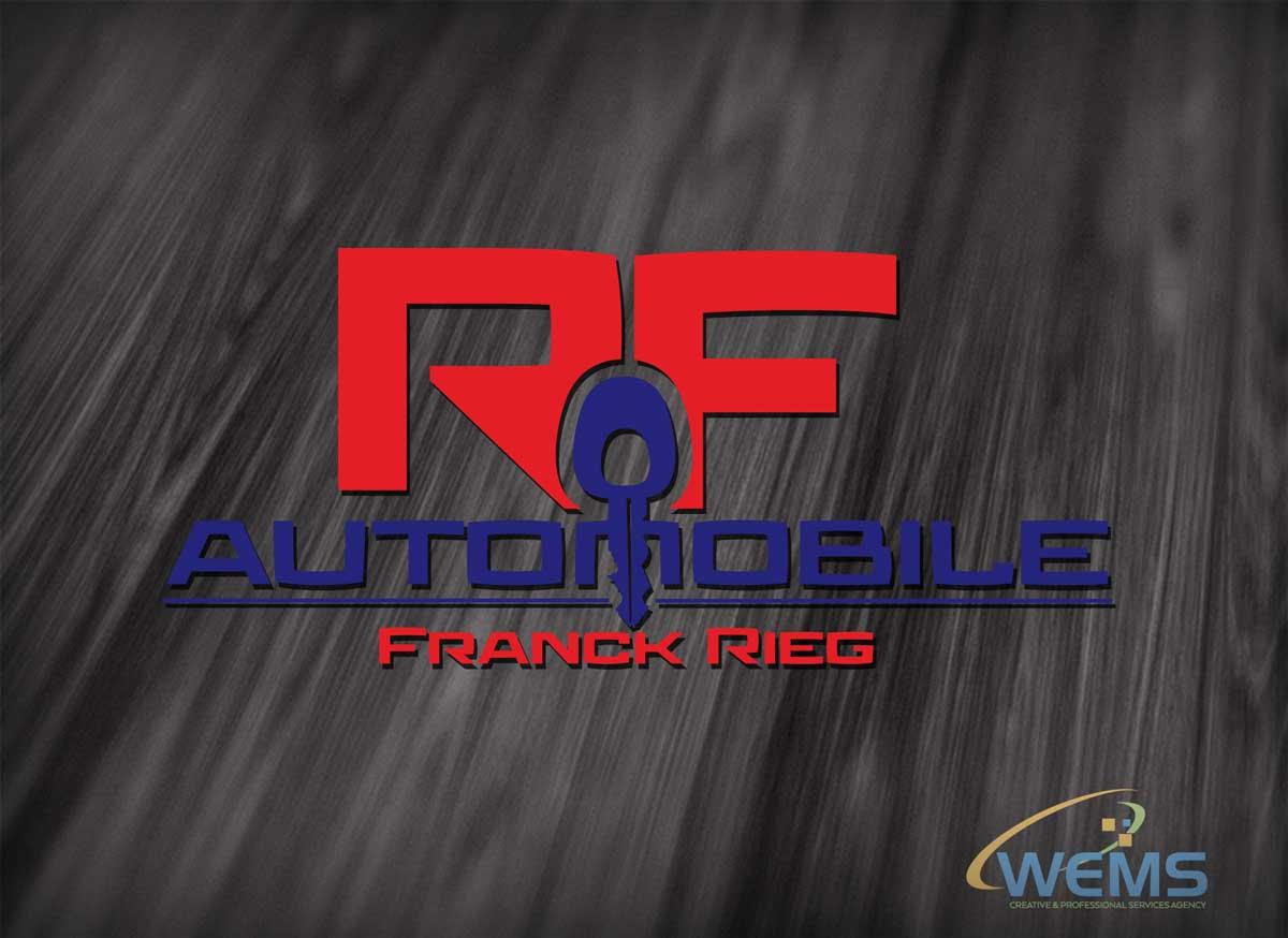wems rf automobile logo 2 - Conception graphique - WEMS l'agence qui harmonise