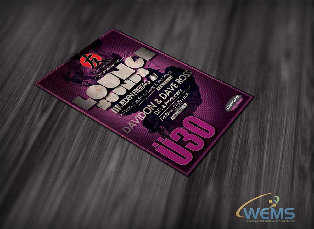 wems tomo flyer 1 - Grafik Design Agentur | WEMS Agency