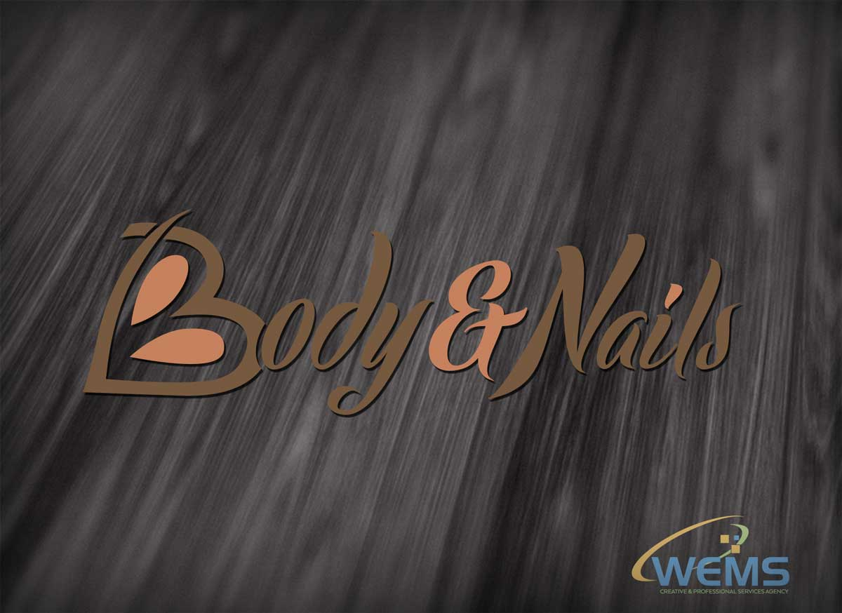 wems body nails logo - Graphic Design, Logo Design, Corporate Identity Design | WEMS Agency