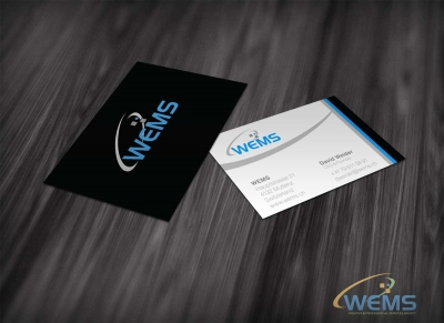 wems business card 2 400x291 - Conception graphique - WEMS l'agence qui harmonise