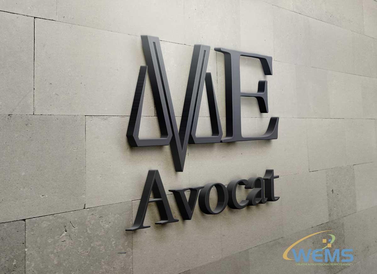 wems escande avocat logo - Graphic Design, Logo Design, Corporate Identity Design | WEMS Agency