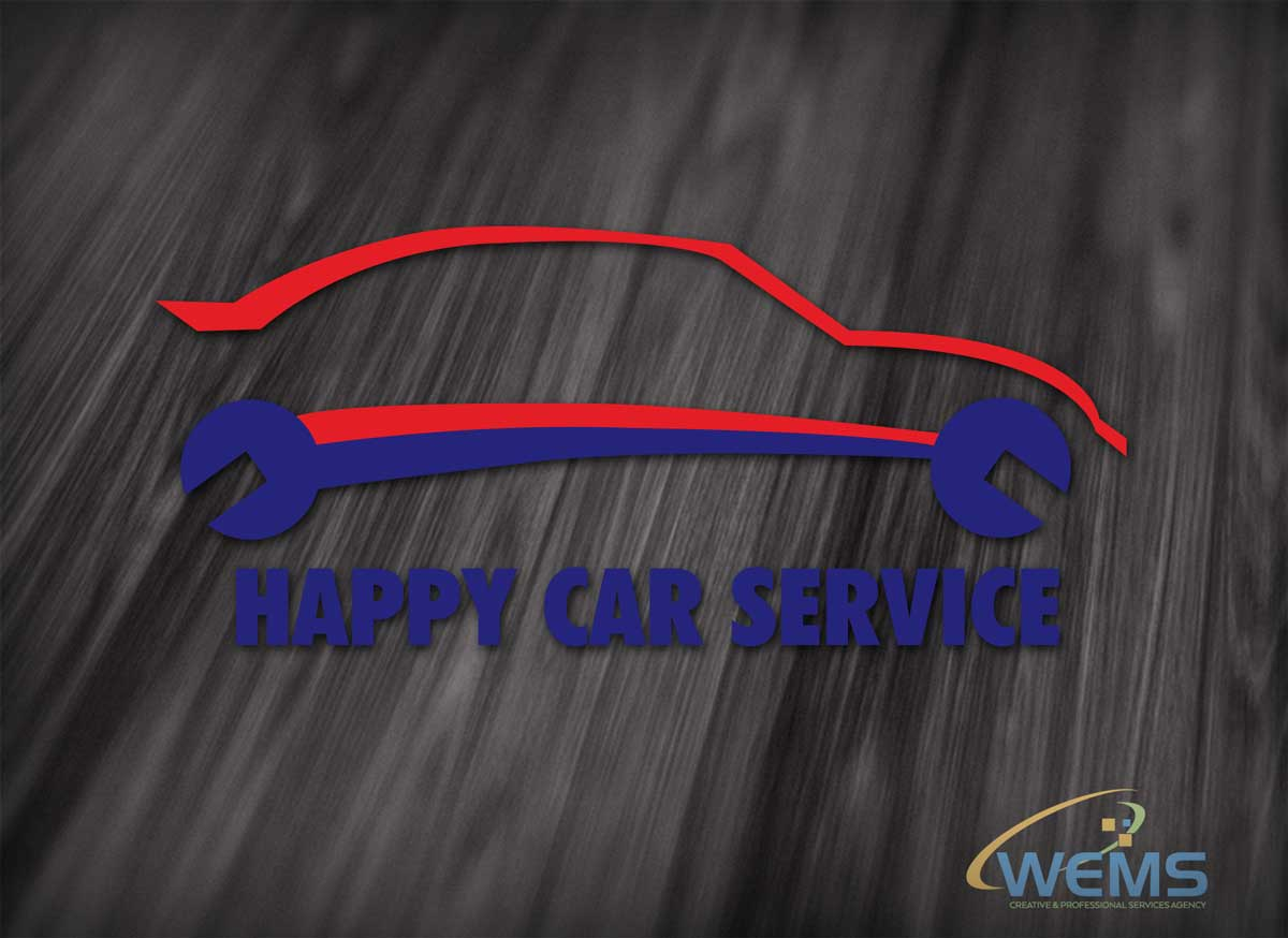 wems happy care service logo - Graphic Design, Logo Design, Corporate Identity Design | WEMS Agency