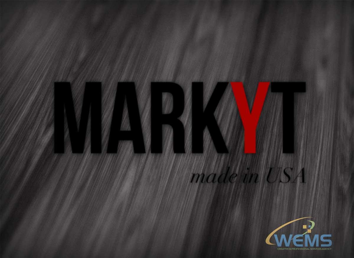 wems markyt logo 2 - Conception graphique - WEMS l'agence qui harmonise