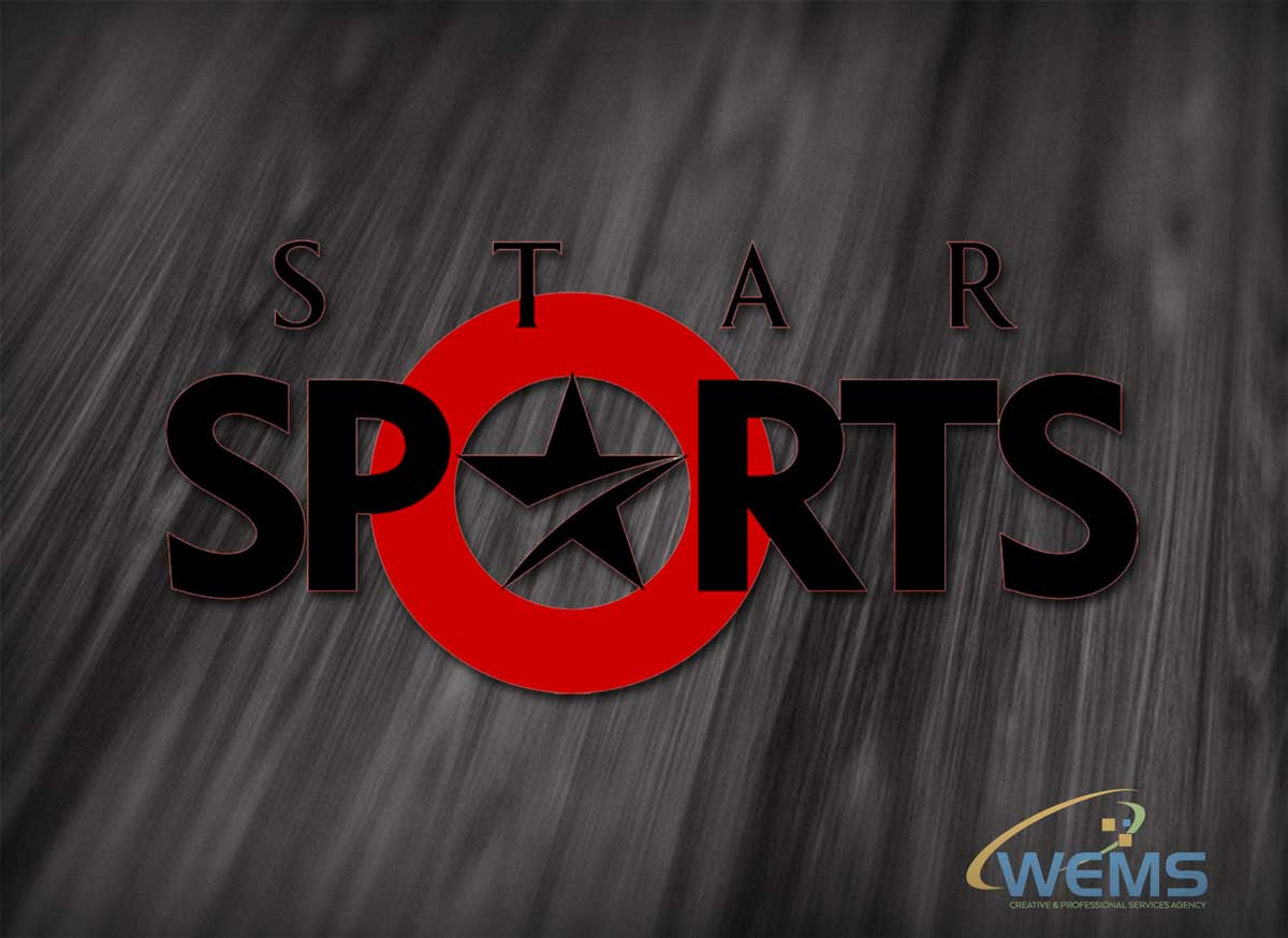 wems star sports logo - Graphic Design, Logo Design, Corporate Identity Design | WEMS Agency